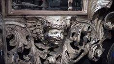Antieke spiegel bij de Kunstcaemer van Copernicus.