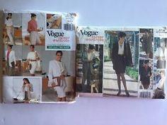 Lot of Plus Size XL Vogue Career Wardrobe Patterns Sz 18 20 22 Dress Pants Skirt  | eBay