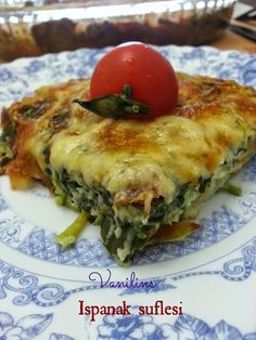 You can make spinach souffle on your days of acceptance, tea time or dinner. You can make spinach souffle on your days of acceptance, tea time or dinner. Veggie Recipes, Chicken Recipes, Dinner Recipes, Cooking Recipes, Healthy Recipes, Turkish Recipes, Ethnic Recipes, Turkish Kitchen, Le Diner