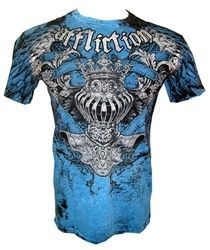 Affliction Men's Pacific Blue T-Shirt