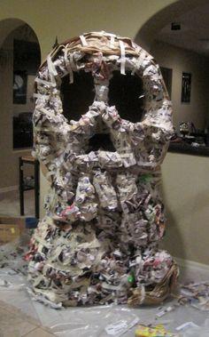 Paper Mache Skull Ro...
