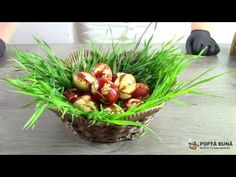 Cum se vopsesc ouale natural cu coji de ceapa si sfecla - YouTube Easter Traditions, Serving Bowls, The Creator, Recipies, Natural, Tableware, Low Gi, Youtube, Eggs