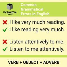 Advanced English Vocabulary, Teaching English Grammar, English Writing Skills, Grammar And Vocabulary, English Vocabulary Words, English Language Learning, English Idioms, English Phrases, Learn English Words