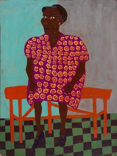 Portrait by William H. Johnson ✖️More Pins Like This At FOSTERGINGER @ Pinterest✖️