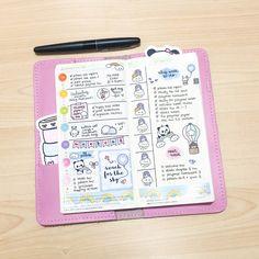 Planner Stickers Hobonichi Techo Weeks Hobonichi Weeks Color Coding Dots Weekend Banners