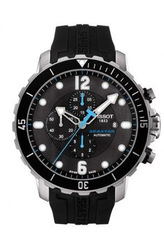 Reloj Tissot Seastar Chronograph tamaño Hombre a la venta en Relojes  Exclusivos 5043d3491642