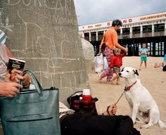 Martin Parr GB. England. Margate. From 'Home and Abroad'. 1986.