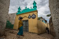Harar is famous for its old town surrounded by ancient walls 'Harar Jugol' and has been li...