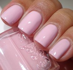 The light shades are so pretty. Essie Bridal Collection For 2013 - Meet Me At The Altar Light Pink Nail Designs, Light Pink Nails, Pastel Nails, Purple Nails, Glitter Nails, Fabulous Nails, Gorgeous Nails, Pretty Nails, Nice Nails