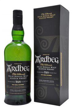 Review #2 - Ardbeg 10 year old #scotch #whisky #whiskey #malt #singlemalt #Scotland #cigars