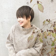 Pin on ショートヘア (Short hair) Cute Haircuts, Hairstyles Haircuts, Cool Hairstyles, Japanese Short Hair, Japanese Hairstyle, Short Hair Older Women, Girl Short Hair, Hair Arrange, Hair Setting