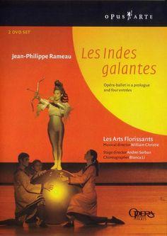 Rameau: Les indes galantes - Opus Arte DVD. £36.95
