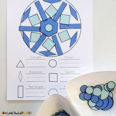 Kids can make beautiful snowflakes as they learn and craft with shapes during this fun Winter Activity. This activity is a perfect STEAM activity that my kids loved! I have included a free printable template with a build and count mat, shapes, and tangram cut outs.   Snowflakes start with hexagons which is why they …