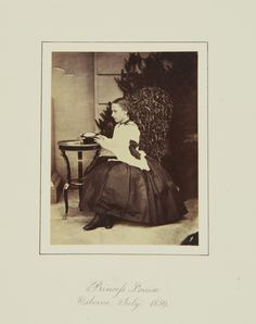 Princess Louise, Osborne, July 1859 [in Portraits of Royal Children Vol.4 1859-1860]   Royal Collection Trust