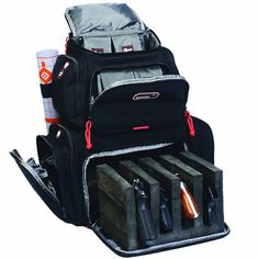 Range Bag For Handguns Gun Backpack Travel Case GPS Tactical Holds Accessories… Travel Backpack, Black Backpack, Backpack Bags, Rucksack Bag, Backpack Online, Pistol Case, Hunting Bags, Hunting Backpacks, Hunting Gear