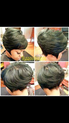 Short cuts, African American hair, black hair