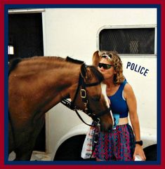 Horses are such sweet, sweet animals.  Every time I see them at events, I have to love on them.  To learn how to use Pinterest with your animal business CLICK ON PIN.