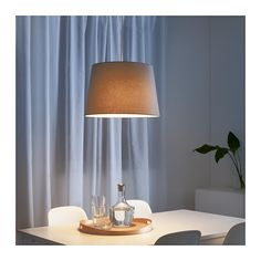 NYM– Lamp shade IKEA use this shade to do side by side pendant