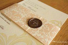 Luxurious Letterpress - Zenadia Design (pearl grey seal)