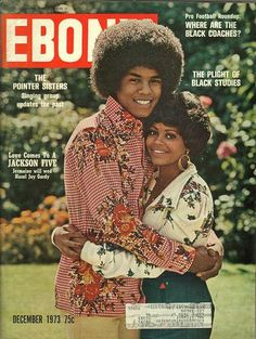Jermaine Jackson and Hazel Joy Gordy on the cover of Ebony Magazine - December 1973 (Michael's brother and former sister in law) Jermaine Jackson, Jet Magazine, Black Magazine, The Jackson Five, Jackson Family, People Magazine, Dona Summer, Ebony Magazine Cover, Magazine Covers
