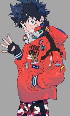 Izuku midoriya (Deku) My hero academia My Hero Academia Episodes, My Hero Academia Memes, Hero Academia Characters, My Hero Academia Manga, Boku No Hero Academia, Monster Anime, Anime Monsters, Anime Child, Anime Boys