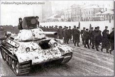Stavka bringing in fresh Siberian troops to throw the Germans off near Moscow. Winter 1941.