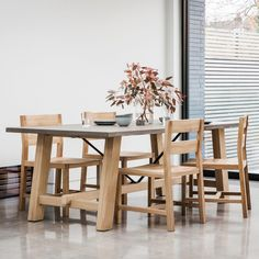 Chilson Trestle Large Dining Table