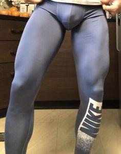 Lycra Men, Lycra Spandex, Gym Gear, Workout Gear, Hot Asian Men, Mens Tights, Compression Pants, Leggings, Big Men