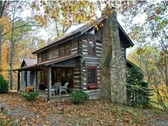 Wildflower Ridge Log Cabin in Brown County Indiana