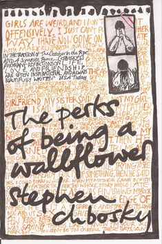 Books Anonymous: The Perks of Being a Wallflower - Stephen Chbosky