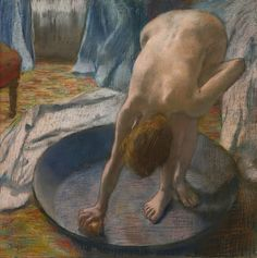 Edgar Degas - The Tub [1886]