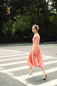 spring pink :: designer: Kate Ermilio Spring/Summer 2012 / photo: Jamie Beck (Only... that pink probably will never work on me)