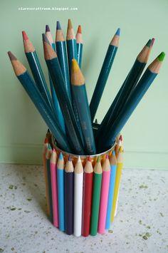 Pencil Holder Tutorial