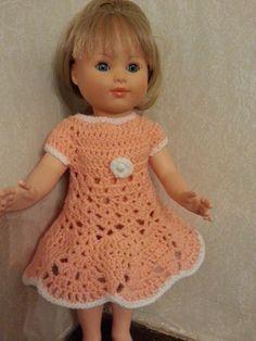 Tuto robe au crochet pour poupée Marie Françoise Crochet Hats, Marie, Fashion, Crochet Doll Clothes, Crochet Dolls, Babydoll Dress Outfit, Barbie Knitting Patterns, Handmade Dolls, Knitting Hats