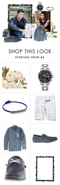 """""""Untitled 53"""" by chaotic-ballet ❤ liked on Polyvore featuring TAG Heuer, Marc by Marc Jacobs, Quiksilver, Billabong, Steve Madden, Olivia Riegel, men's fashion and menswear"""