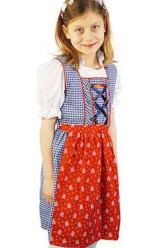 #Kinderdirndl Susi von CoalaShop – COALA #Trachten, #Oktoberfest, #Dirndl