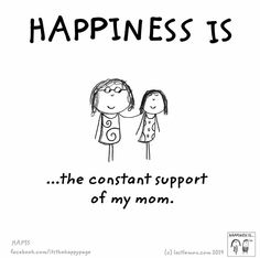 miss my mom. Love My Kids, I Love Mom, Mothers Love, Cute Happy Quotes, Mom Quotes, Life Quotes, Make Me Happy, Are You Happy, Mother Daughter Quotes