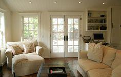 Ina Garten's Napa Valley house-family room
