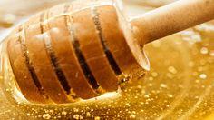 Honey as an allergy remedy.