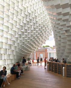 Serpentine Gallery Pavilion by #BIG @bjarkeingels @kaiuwebergmann @jakob_lange 🇩🇰💪🏻🇬🇧 #architecture #archdaily #instagood #london #iphonesia
