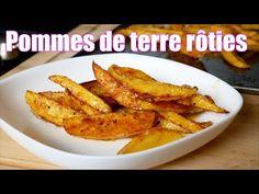 Pommes de terre croustillantes au four FACILE et RAPIDE 🥔 - YouTube Tasty Videos, Beignets, Vegan Vegetarian, Nom Nom, Fries, Bbq, Veggies, Menu, Make It Yourself