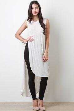Muscle Maxi Top Love Fashion, Girl Fashion, Womens Fashion, Fashion Design, Dress Over Pants, Stylish Kurtis, Hijab Fashion, Fashion Outfits, Androgynous Fashion