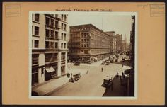 Manhattan: University Place - 9th Street From New York Public Library Digital Collections.