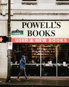 Powell's Bookstore, Portland, Oregon - my fave bookshop on earth! Oh The Places You'll Go, Places To Travel, Nevada, Utah, Washington, Arizona, Oregon Travel, Adventure Is Out There, Fairy Tail