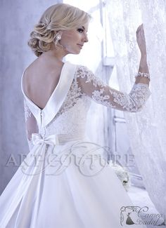 Jacquelin Bridals Canada - 19971 - Wedding Gown - Trumpet-Style Gown With Strapless Sweetheart Neckline. Organza Over Silky Satin. Lace-Up Back. Irish Wedding Dresses, 2015 Wedding Dresses, Wedding 2017, Bridal Dresses, Wedding Gowns, Deb Dresses, Flower Girl Dresses, Bridal Salon, Bridal Accessories