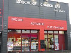 Devanture Boucherie Navier Quévert
