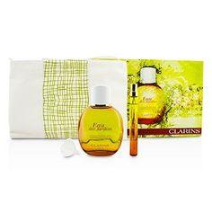 Eau Des Jardins Coffret: Fragrance Spray 100ml/3.3oz + Refillable Spray 10ml/0.3oz + Refill Funnel + Bag - 3pcs+1bag