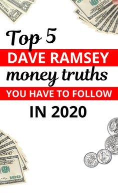 5 simple but effective tricks of Dave Ramsey to get rich Are you on the Dave Ramsey plan? Want to start using financial peace university or get out of debt? We've got you covered. Use these Dave Ramsey financial tips to become debt free. Dave Ramsey Plan, Dave Ramsey Debt Snowball, Money Saving Tips, Money Hacks, Money Tips, Dave Ramsey Financial Peace, Money Makeover, Planning Budget, Financial Tips