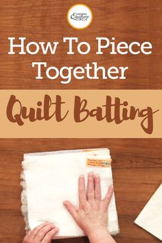 Quilt batting comes in all sorts of different sizes and materials. You can find cotton, polyester, blended and many other types of batting as well as batting in crib, twin, queen, king and other sizes. How to choose the right quilt batting will depend on the project you are making and the end result you are wanting.