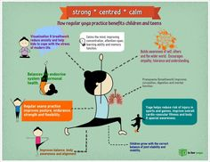 Benefits of Yoga for kids.  #yogakids